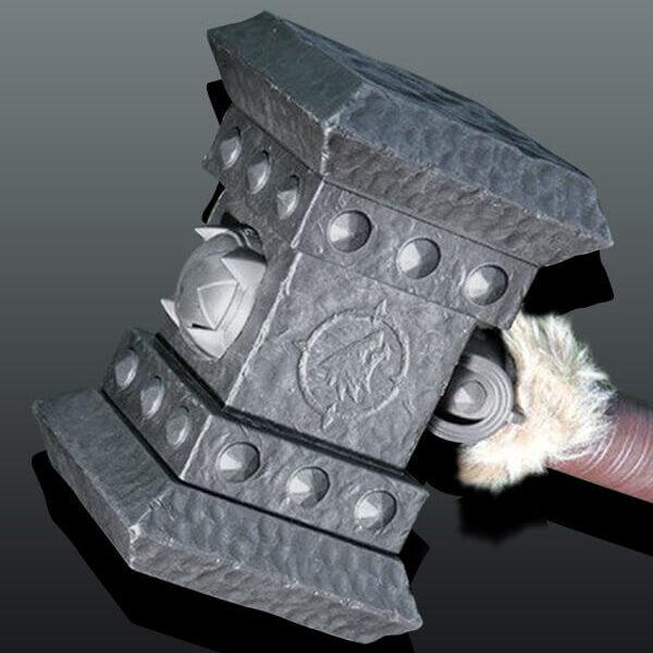 WOW Orgrim Doomhammer Replica